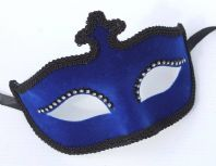 Blue Velour Mask